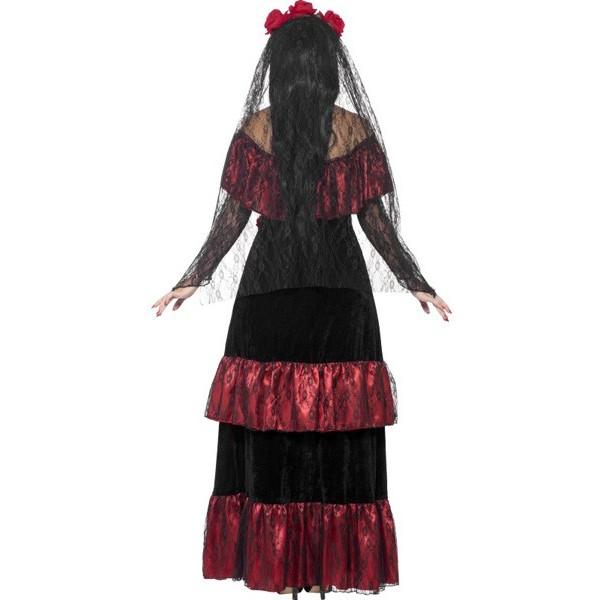 d guisement mari e mexicaine halloween la magie du d guisement squelettes et zombies halloween. Black Bedroom Furniture Sets. Home Design Ideas