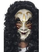 Masque vénitien or et bordeaux pour homme, idéal pour vos déguisements de marquis et halloween - masque carnaval de venise
