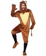 Déguisement de lion pour adulte idéal pour le carnaval ou une soirée sur le thème des animaux