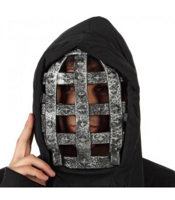 Masque halloween avec grille