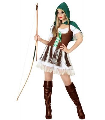 Déguisement robin des bois femme archer