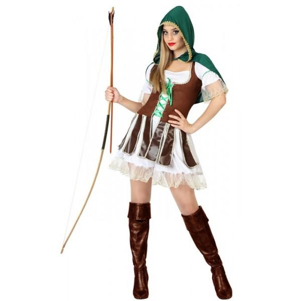 D guisement robin des bois femme archer la magie du - Deguisement robin des bois fille ...