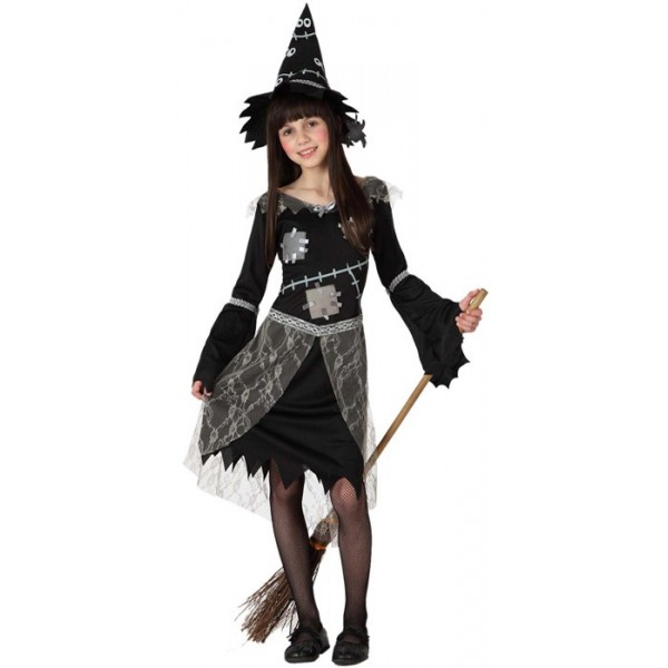 D guisement sorci re fille halloween la magie du d guisement costumes et d guisements - Deguisement halloween enfant fille ...