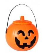 pot à bonbons citrouille avec couvercle - Bonbonnière citrouille Halloween