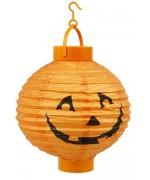 Lanterne citrouille lumineuse 20 cm - lampion halloween