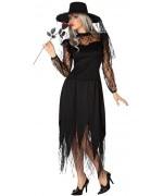 déguisement veuve noire, la beauté fatale d'halloween - deguisements sorcières adultes