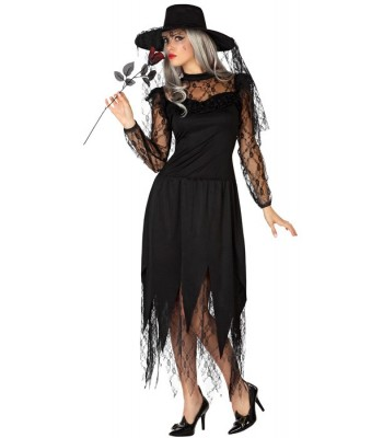Déguisement veuve noire halloween