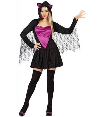 Déguisement femme chauve-souris halloween