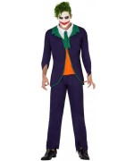 déguisement de Joker pour homme, costume super-héros et halloween