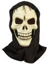 Masque de squelette avec capuche, complétez votre déguisement pour halloween