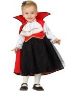 Déguisement de vampire pour bébé, déguisez votre petite fille en vampire pour halloween - déguisement pour bébé de 0 à 2 ans