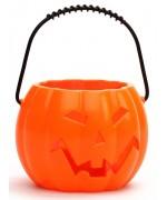 Citrouille lumineuse et sonore idéale pour votre décoration d'halloween