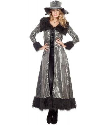 d guisement pimp argent femme la magie du deguisement nouvel an et carnaval. Black Bedroom Furniture Sets. Home Design Ideas