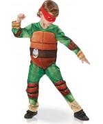 Costume de Tortue Ninja pour enfant avec combinaison rembourrée, masques et grenades - Déguisement enfant dessin animé