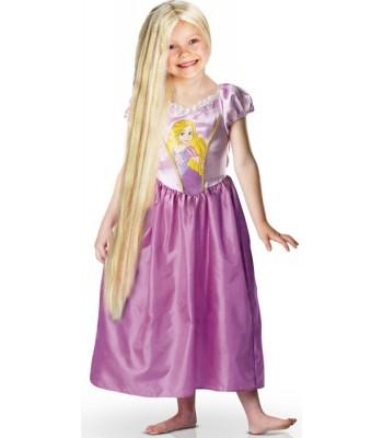 Perruque princesse Raiponce enfant