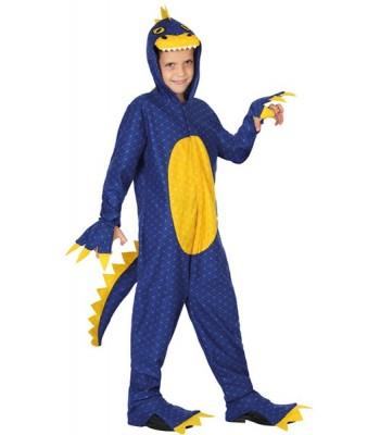 Déguisement dinosaure bleu enfant