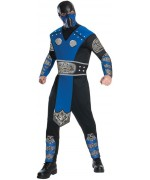 Déguisement subzero adulte Mortal Kombat, avec combinaison de ninja et masque - personnage de jeux video