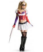 Déguisement Harley Quinn pour femme - personnage jeu video Batman Arkham City