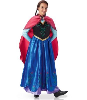 Déguisement Anna reine des neiges femme