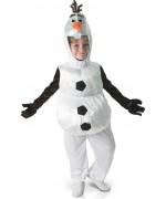 Déguisement Olaf enfant, incarne le petit bonhomme de neige du dessin animé Disney la reine des neiges