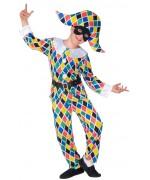 Déguisement Arlequin pour enfant, un costume original et coloré idéal pour le Carnaval