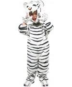 Déguisement de tigre blanc pour enfant de 2 à 3 ans