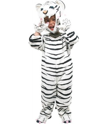 Déguisement tigre blanc