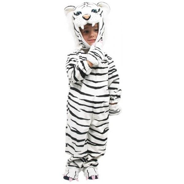 deguisement enfant tigre blanc