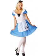 Déguisement Disney, Alice au pays des merveilles pour adulte sous licence Disney officielle