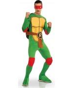 Déguisement Tortue Ninja Raphael pour adulte, incarnez ce personnage du célèbre dessin animé des années 80