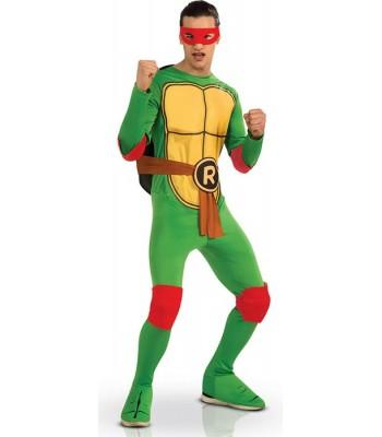 Déguisement tortue ninja Raphael adulte