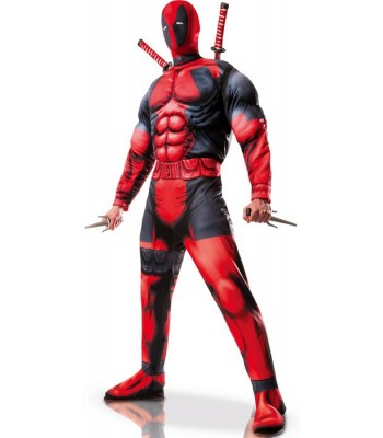 Déguisement Deadpool adulte luxe