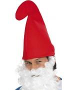 Bonnet rouge pour adulte, complétez tous vos déguisements de Schtroumpf ou de lutins de Noël