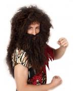 Incarnez un véritable homme des cavernes grâce à cette perruque d'homme de cro-magnon