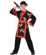 déguisement de samourai pour enfant de 3 à 12 ans - personnage de manga ou de jeux video
