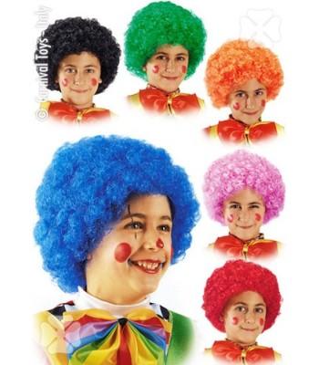 Perruque de clown pour enfant