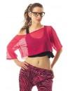 T-shirt rose fluo femme