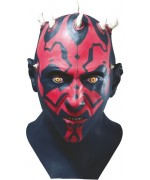 Masque Darth Maul intégral en latex, idéal pour incarner ce célèbre personnage de la saga Star Wars