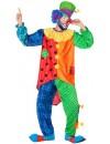 déguisement de clown pour homme également disponible en grande taille jusqu'au XXL