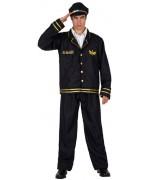 Déguisement de commandant de bord