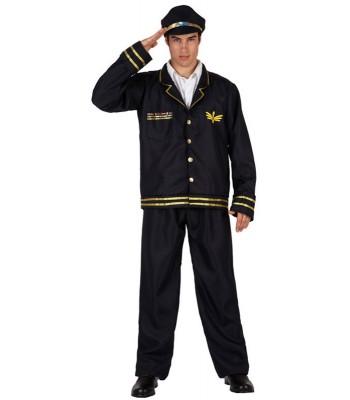 Déguisement commandant de bord