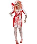 Déguisement d'infirmière zombie pour femme disponible grandes tailles pour halloween