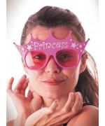 Lunettes rose princesse, lunettes humoristiques pour enterrement de vie de jeune fille - FA120A