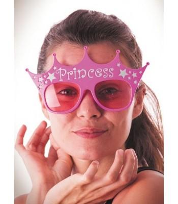 Lunettes princesse rose