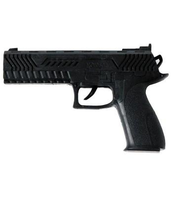 Pistolet noir en plastique