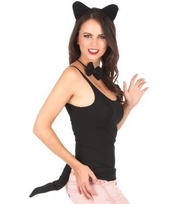 Kit de chat noir pour femme