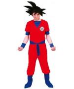 Déguisement Sangoku adulte idéal pour incarner un super héros de manga