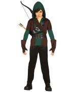 déguisement d'archer pour enfant, idéal pour incarner un super héros digne du célèbre Arrow