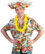 Chemise hawaïenne pour homme avec fleurs