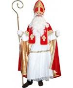 Déguisement St Nicolas velours